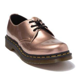 Dr Martens 1461 Vegan Low Cut Boots Rosegold